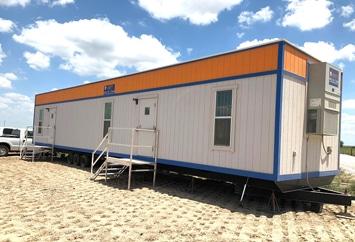 On Ground Construction Office VESTAModular