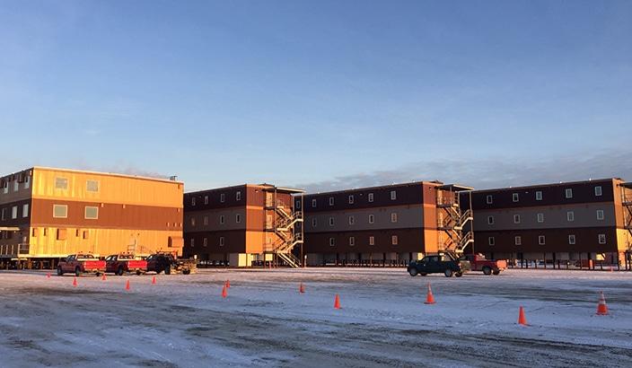 alaska arctic oilfield hotel