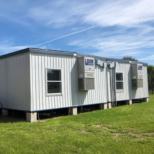 double classroom modular building