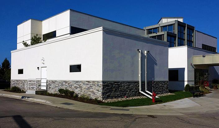 modular medical imaging building