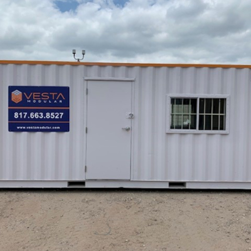 custom modular office complex - shipping container offices