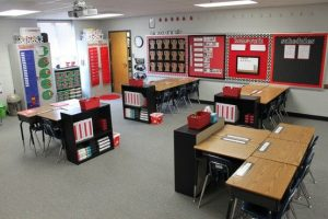 Portable Classroom Interior