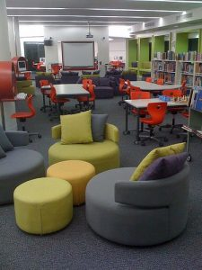 Long Portable Classroom with Multiple Learning Spaces