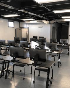 Vestamodular Portable Computer Lab Classroom Inside