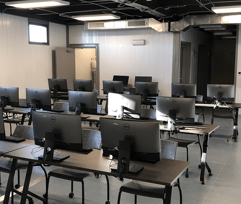 Vestamodular Portable Computer Lab Classroom