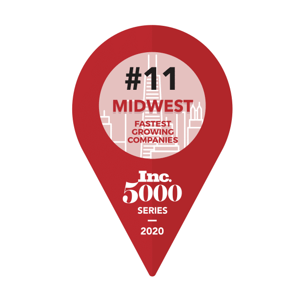 Inc. 5000 Fastest Growing Companies in the Midwest 2020