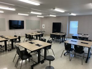 High School Modular Classroom Interior
