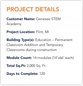 Michigan Genesee Modular Classrooms Project Overview