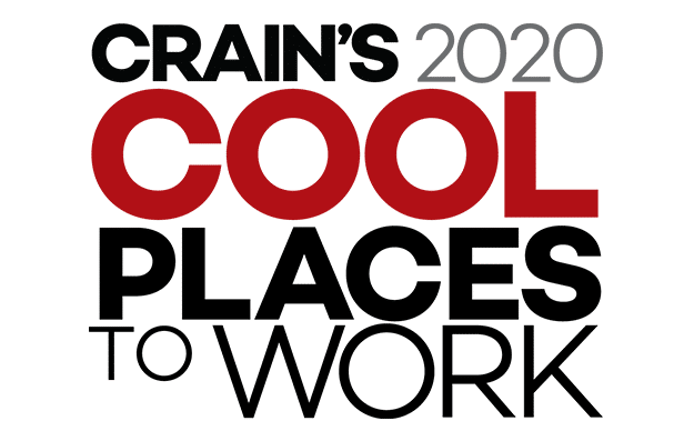 Crain's 2020 Cool Places to Work logo