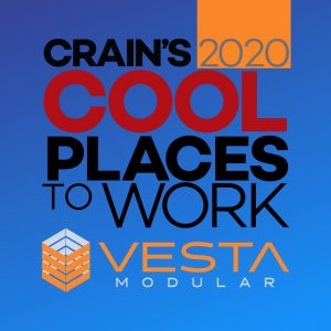 Crain's 2020 Cool Places To Work Award Winner