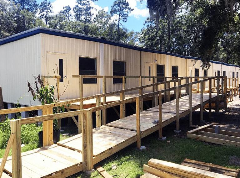 Multi-Classroom Modular Classroom building