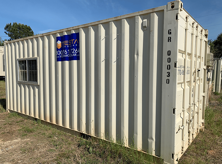 Modular On-Ground Office Container
