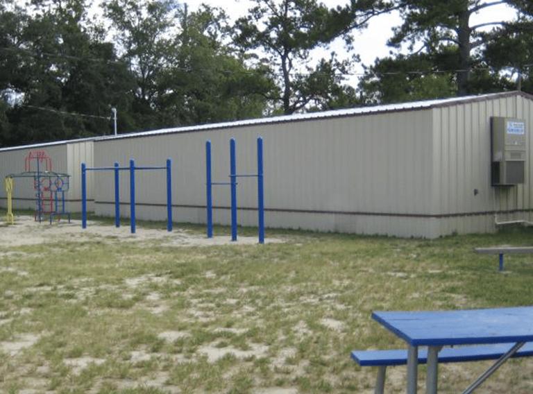 24' x 32' Modular restroom building