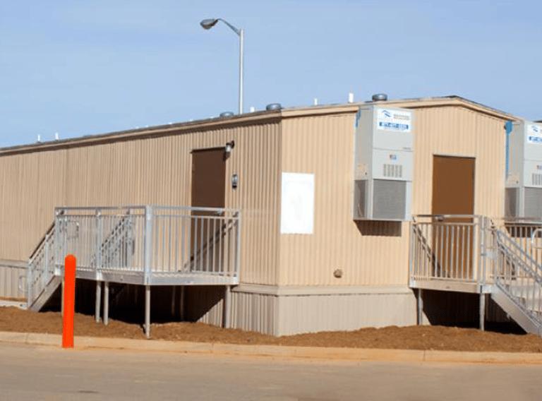 24' x 40' modular restroom building
