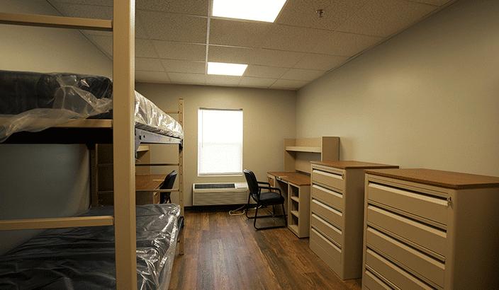 The Citadel modular dormitory