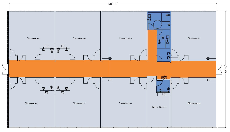 Winkleman School floorplan