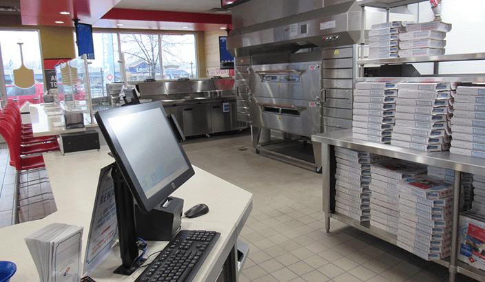 Domino's Pizza Quick Serve Restaurant