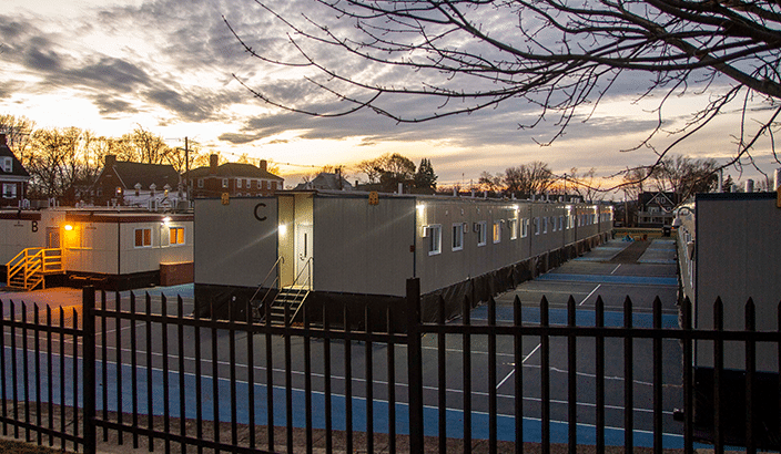 Tufts University dormitory