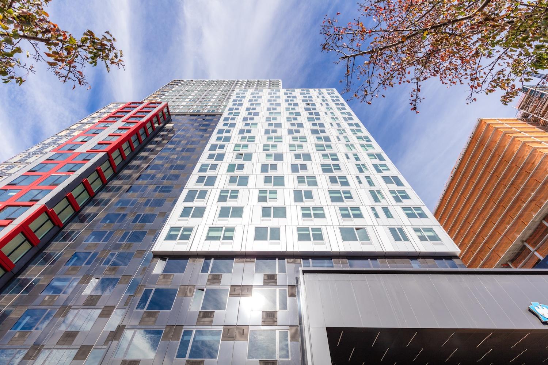 modular apartment building, creative modular construction project