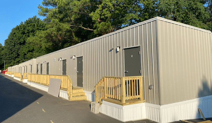 temporary dormitory buildings for social distancing