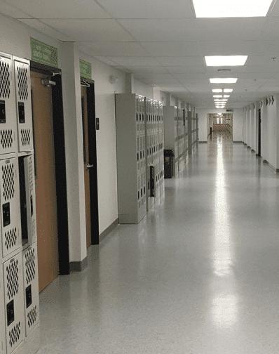Green-Dot-Feature-Hallway
