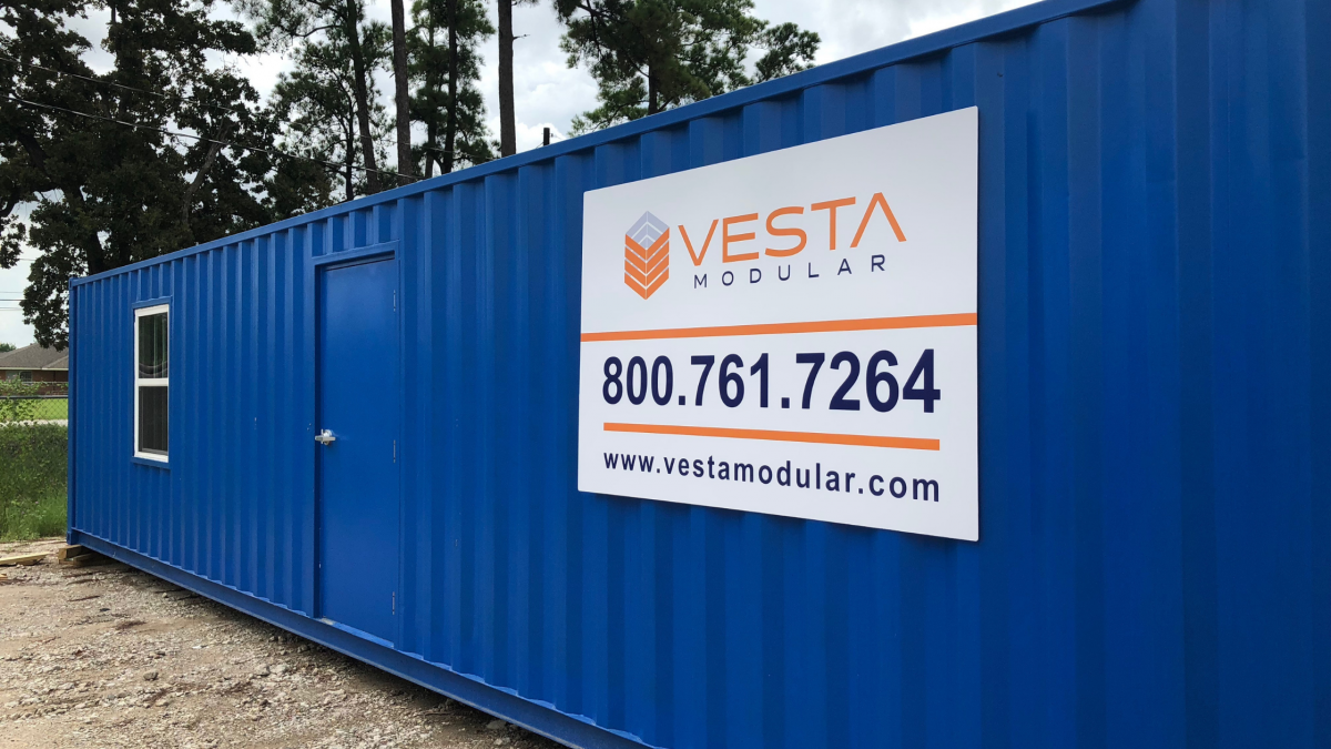 Construction container benefits